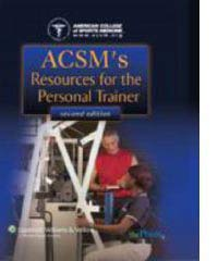 ACSM Resources for Personal Trainer