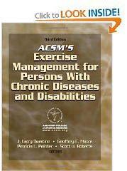 ACSM SPecial Populations Training