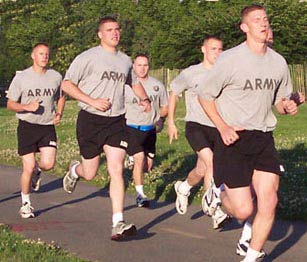 Army Running