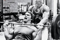 Bodybuilding Off-Season Motivation - Train with a Partner