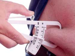 body fat caliper measurement