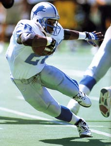 barry sanders most impressive athlete