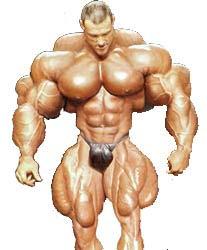 Hulking Muscle Freak