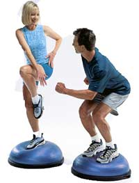 BOSU Ball Exercises - Best Balance Trainer Workout ...