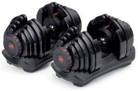 Bowflex SelectTech Adjustable Dumbbells 552