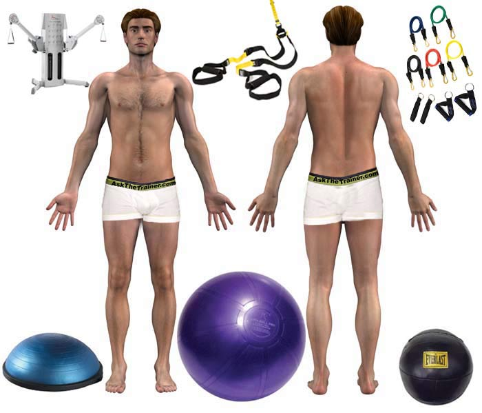 exercise videos click anatomy chart