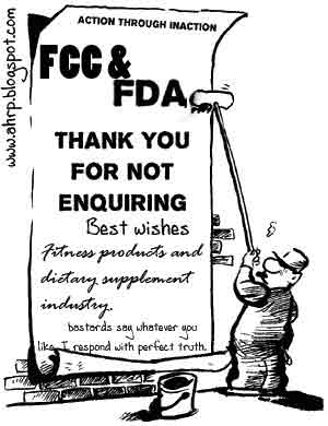 FDA and FCC Suck for Fitness Industry