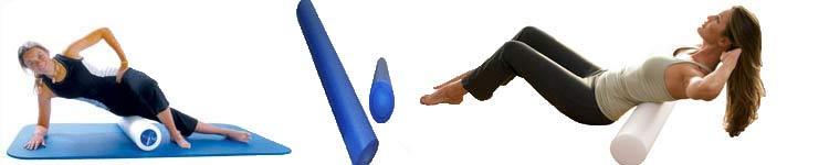 Foam Roll SMFR for Hunch Back Posture Problems
