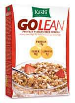 Kashi go lean cereal with milk