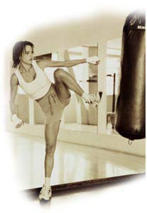cardio kickboxing workouts