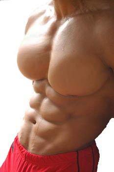 Man Boobs To Pecks No Fat 115