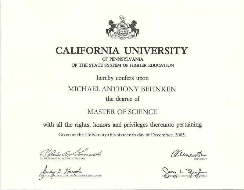 Online Masters Degree from CUP through NASM