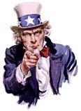 The US government is corrupt and so is Uncle Sam