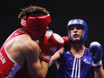 Olympic Boxing 4 Rounds Tough Event