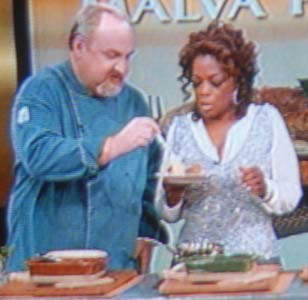 Oprah and her Chef of 10 Years