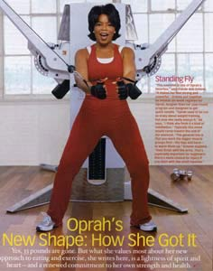 Oprah Working the Cable Crossover