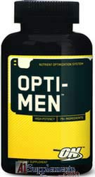 Opti-men multi vitamin and minerals