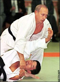 Putin Kicking Ass