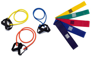 Resistance Bands come in all shapes, sizes and colors