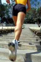 Running Stairs to Build Calves