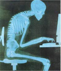 Slouching at the Computer