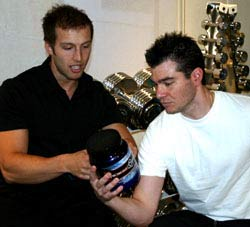 Personal Training Consultations - Trainer with Client