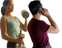 Exercising with a Personal Trainer - Terrible Personal Trainer