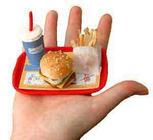 Reduce Portion Sizes
