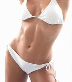 toned stomach without Tummy Fat