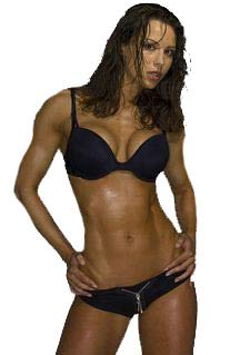 Woman with Good Muscle Tone
