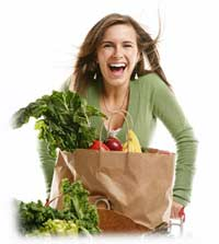 Women over 40 need plenty of vegetables