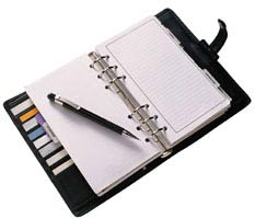 Write it Down in a Planner