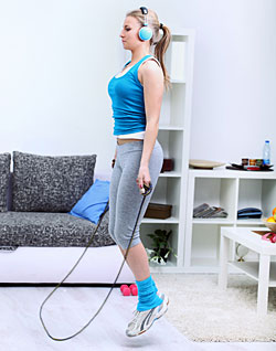 10 Ways to Workout at Home