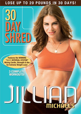 jillian michaels 30 day shred exercise program review