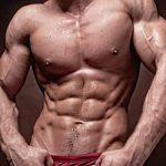 man with ripped core and abdominal muscles