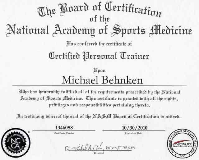 Personal Trainer Certifications - Best Types, Tips and ...