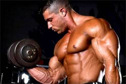 Bodybuilding Weight Training Tips 101 - bodybuilder lifting weights