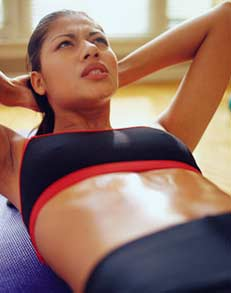 exercises to burn stomach fat quickly