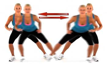 Side Shuffles Exercise