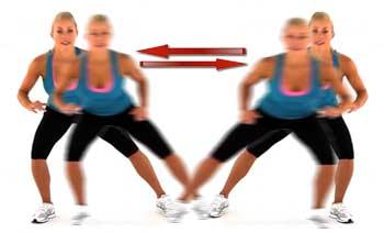 Side Shuffles Exercise
