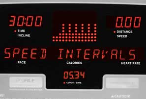 Treadmill Interval Program