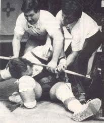 weight lifting accident