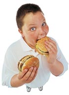 Promoting and Maintaining a Healthy Lifestyle for Children - Replace junk food with healthy food