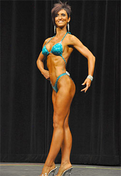 Women's Figure Competition Training for Beginners