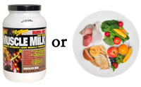 Protein Shake or Plate