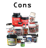 Disadvantages of Supplements