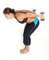 triceps kick backs