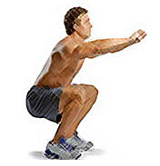 Top 5 Body Transformation Exercises - Squat