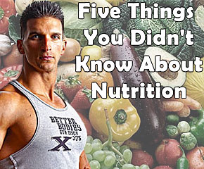 Five Things You Didnt Know About Nutrition: Good Nutrition Defined