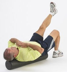 decreasing muscle soreness with a foam roller